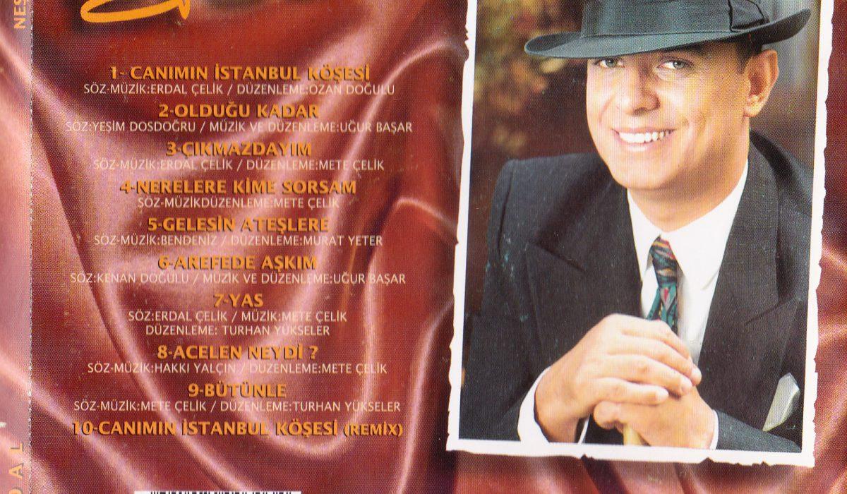 erdal çelik 1995 albüm kapak